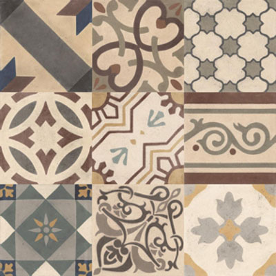 Vintage tegel Malaga