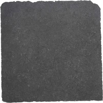 Keramische tegel Pietra Noir getommeld