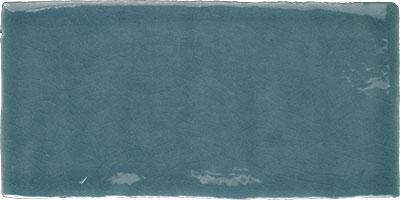 Wandtegel Craquelé Turquoise